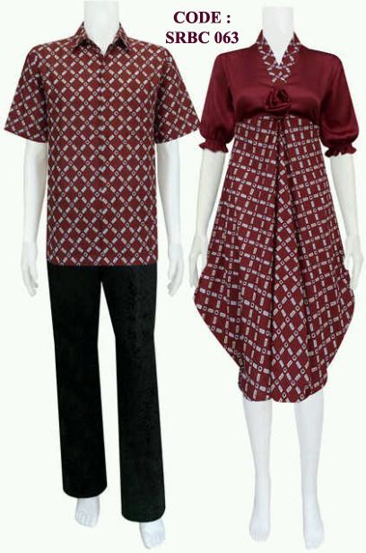 Busana Batik Wanita 063 Koleksi Baju Batik Modern