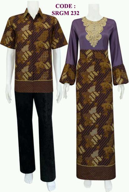Busana Muslim 232 Koleksi Baju Batik Modern