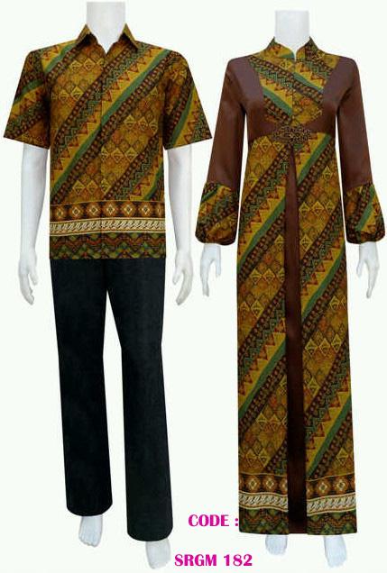 Desain Baju Batik Srgm 182 Koleksi Baju Batik Modern