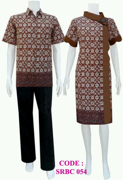 dress batik modern srbc 54 | koleksi baju batik modern