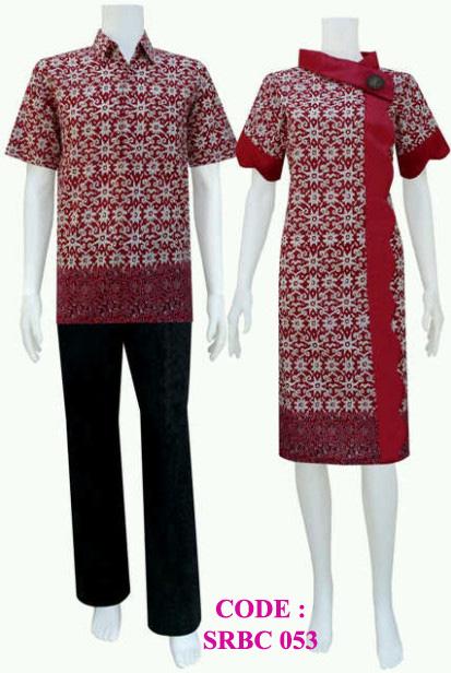 Dress Batik Srbc 53 Koleksi Baju Batik Modern