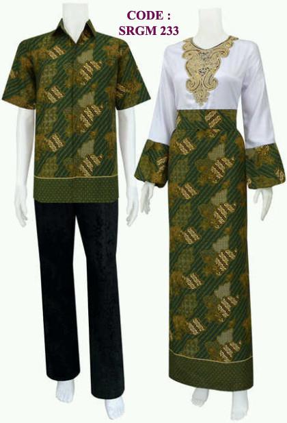 Gamis Batik 233 Koleksi Baju Batik Modern