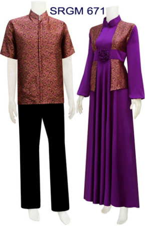 Koleksi Sarimbit Gamis Koleksi Baju Batik Modern
