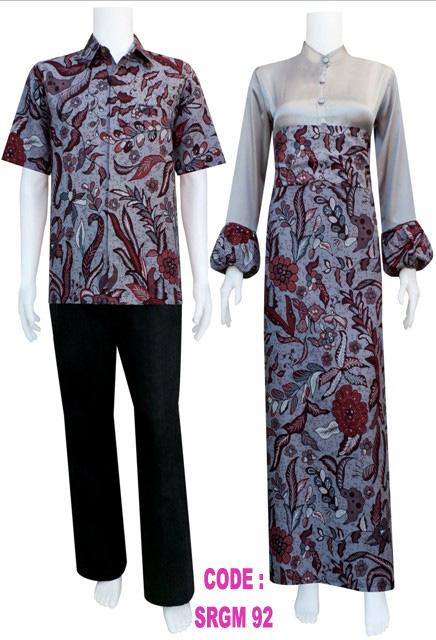 Gamis Krah Shanghai Koleksi Baju Batik Modern