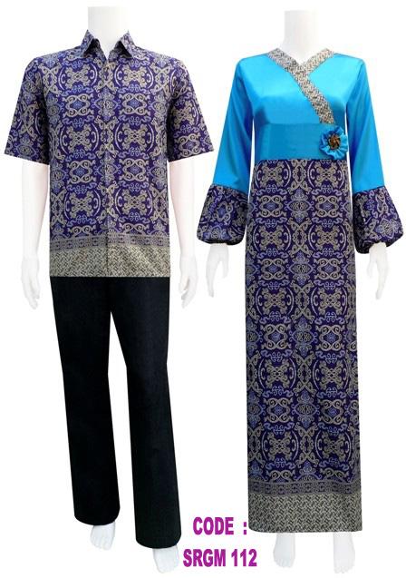 Gamis Batik Mawar Koleksi Baju Batik Modern