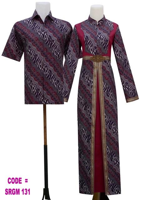 Gamis Batik Modern Koleksi Baju Batik Modern
