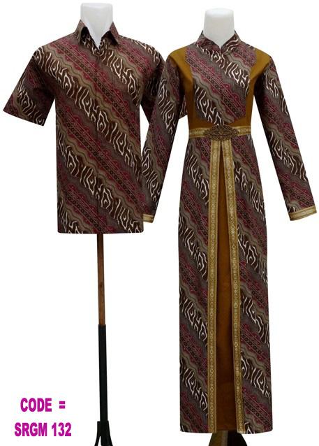 Gamis Batik Srgm 132 Koleksi Baju Batik Modern
