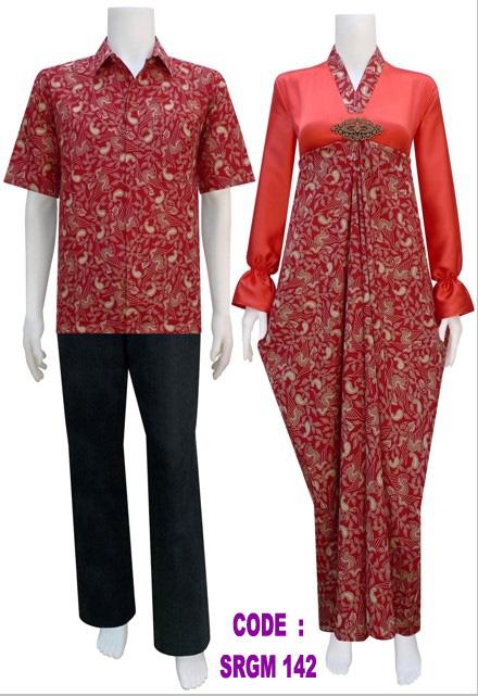 Gamis Batik Srgm 142 Koleksi Baju Batik Modern