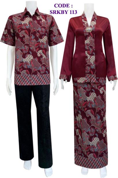 KEBAYA MUSLIM srkby 113 | koleksi baju batik modern