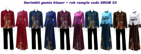 koleksi batik modern