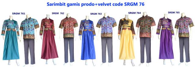 sarimbit gamis, sarimbit batik, batik prodo