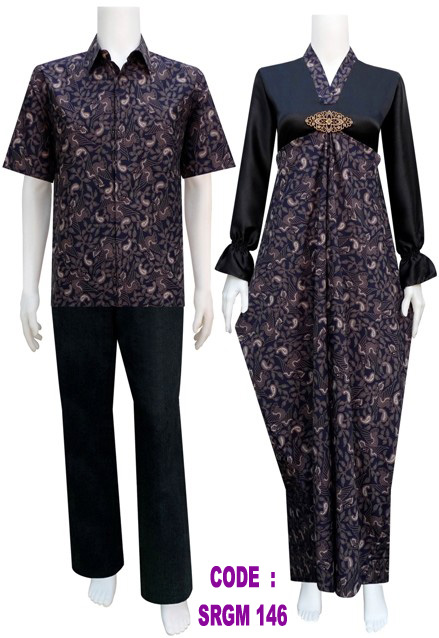 Model Busana Batik Srgm 146 Koleksi Baju Batik Modern