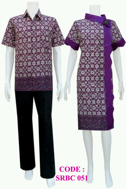 model dress batik srbc 51 | koleksi baju batik modern