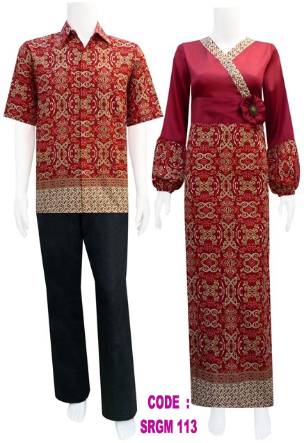 Sarimbit Gamis Batik Code Srgm 11 Sold Out Koleksi
