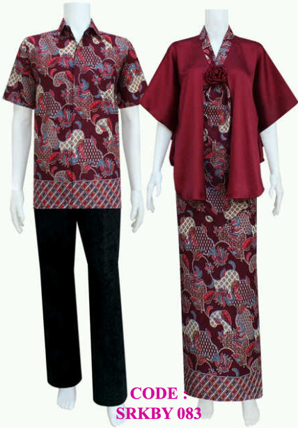 Model Kebaya Modern Srkby 83 Koleksi Baju Batik Modern