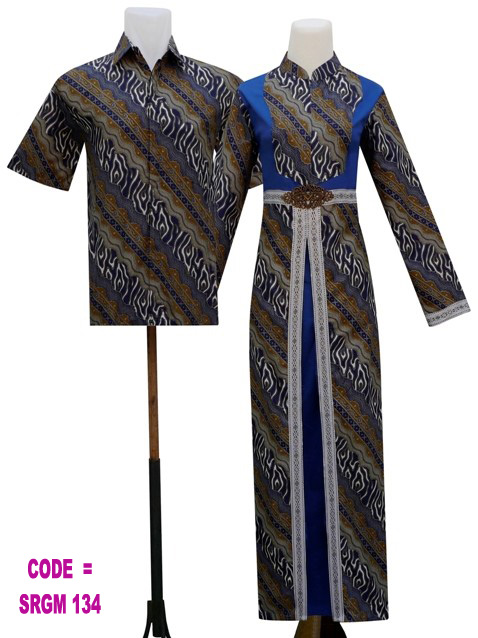Sarimbit Batik Srgm 134 Koleksi Baju Batik Modern