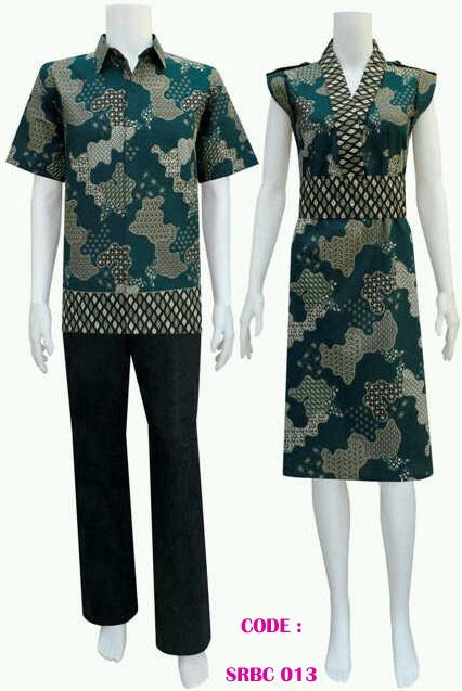 desain baju batik