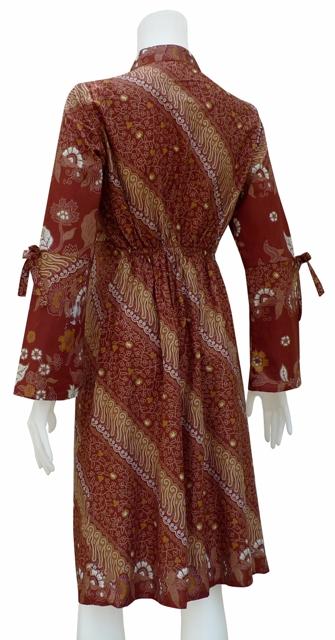 desain dress batik