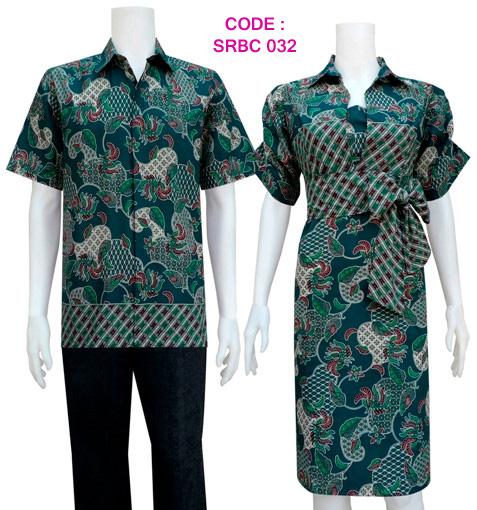 Model Dress Batik Modern Sarimbit