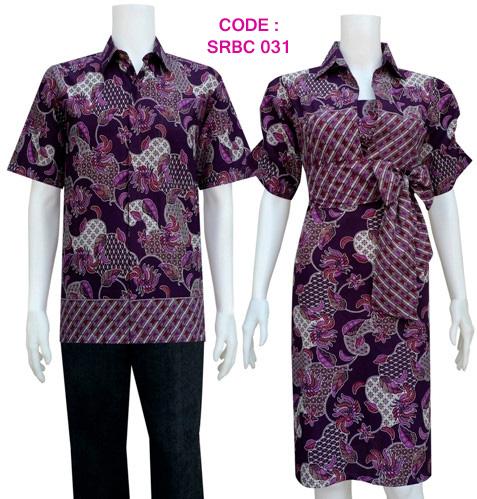 sarimbit dress batik