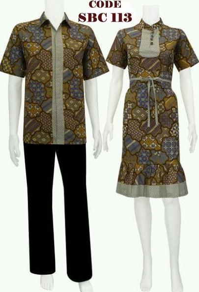 SARIMBIT DRESS BATIK code SRBC 11   koleksi baju batik modern
