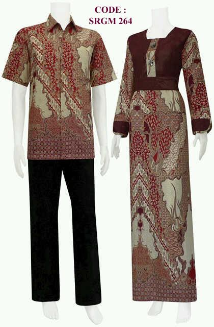 Gambar Sarimbir Gamis Koleksi Baju Batik Modern