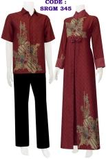 batik gamis 345