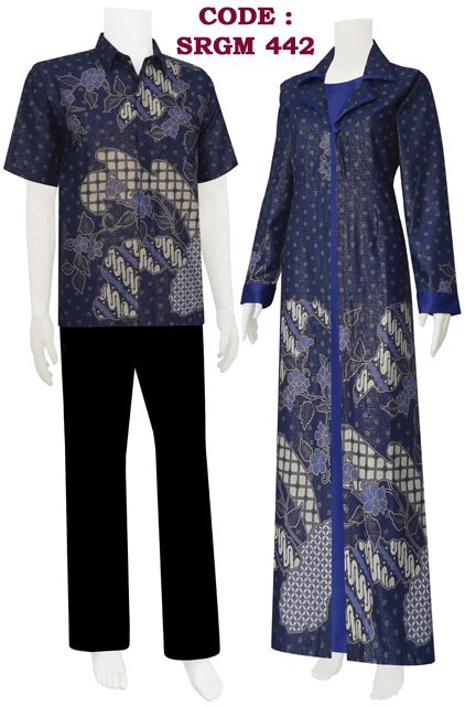 Baju Batik Model Sarimbit Gamis Jubah Koleksi Baju Batik