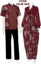 gambar gamis batik 3