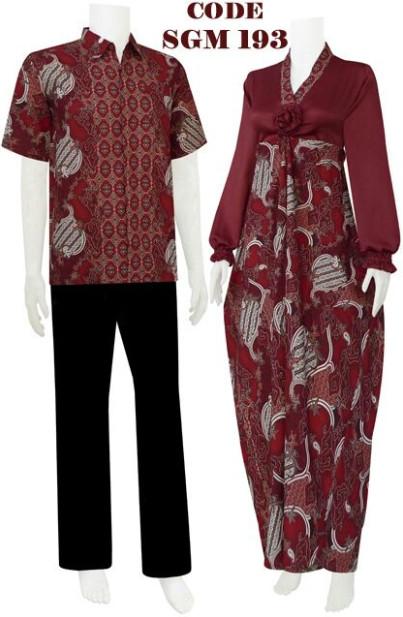Gamis Batik Kaftan Code Srgm 39 Koleksi Baju Batik Modern