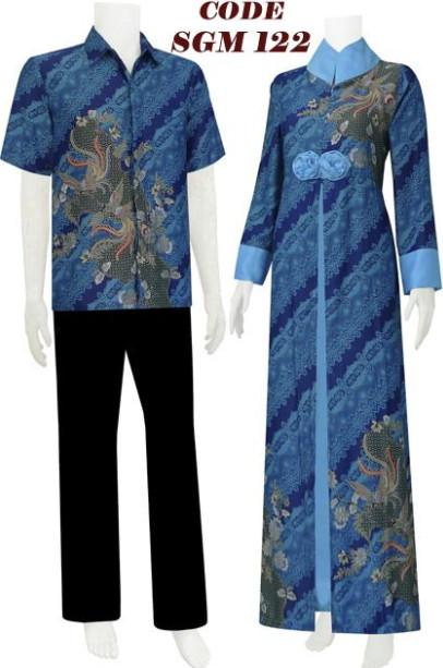 Gamis Moden Koleksi Baju Batik Modern