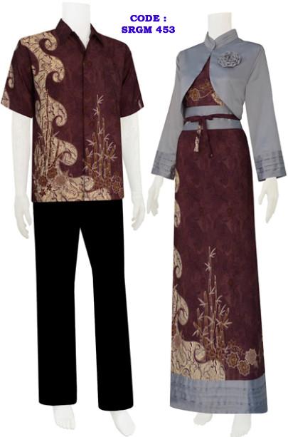Gamis Batik Model Bolero Mawar Code Srgm 45 Koleksi Baju