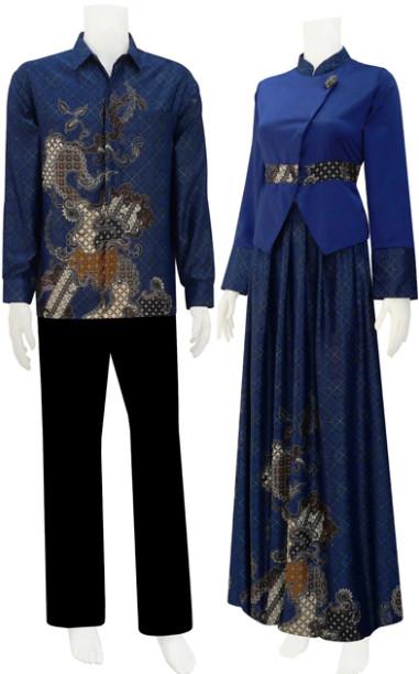 Model Baju Batik 2014 Koleksi Model Baju Batik Modern