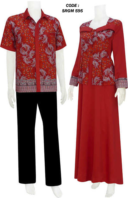 Gamis Batik Model Gaun 2 Code Srgm 59 Koleksi Baju Batik