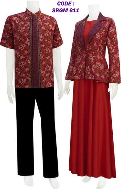 Gamis Batik Sarimbit Model Bolero Code Srgm 61 Koleksi