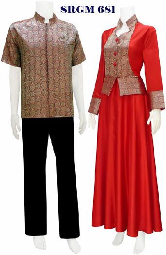 Gamis Muslim Koleksi Baju Batik Modern