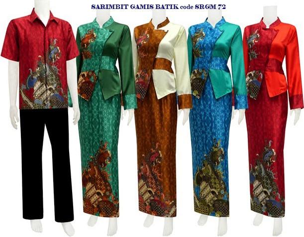 Koleksi Baju Batik Modern Butik Batik Kebaya Batik