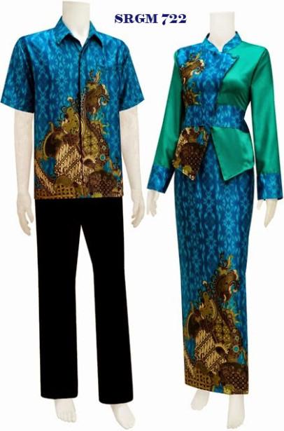 Sarimbit Gamis Kebaya Koleksi Baju Batik Modern