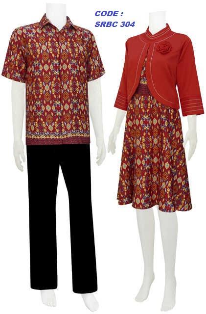 sarimbit dress, batik solo, batik modern