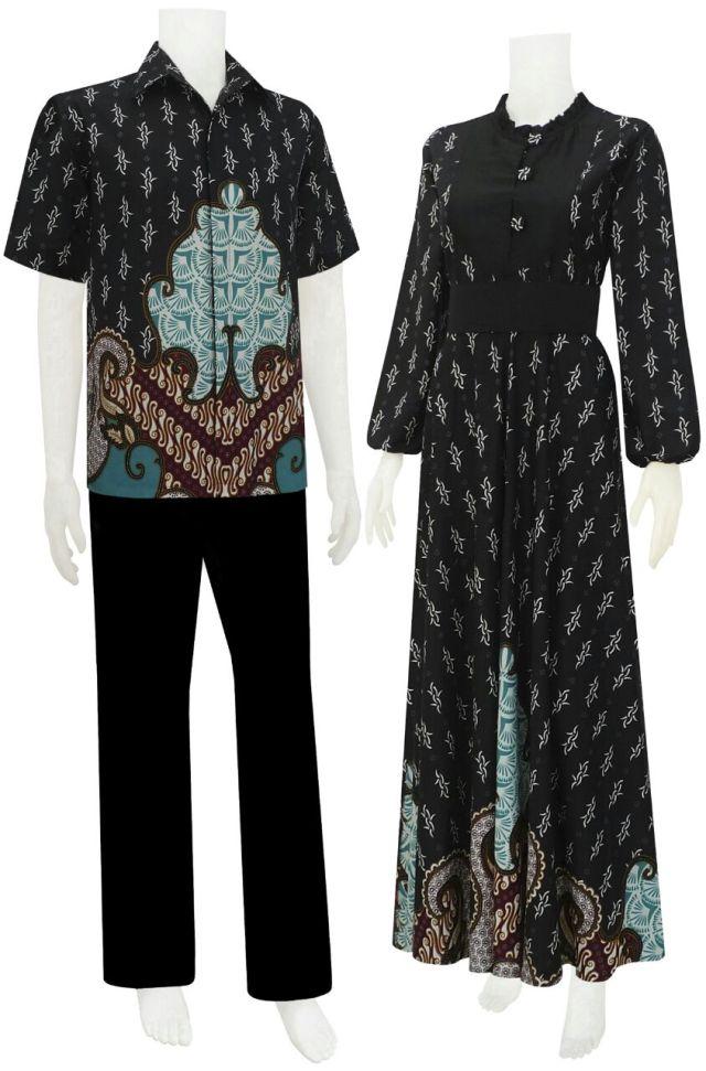 Koleksi batik koleksi baju batik modern Baju gamis batik anak2