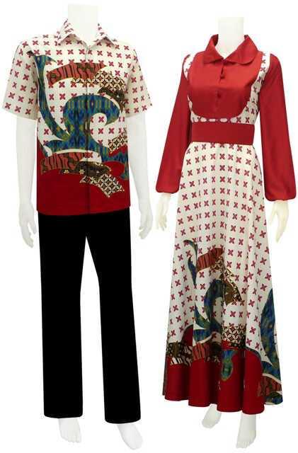 sarimbit gamis, koleksi batik, batik solo, batik